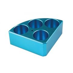 Синя табла DLAB, с 4 отвора