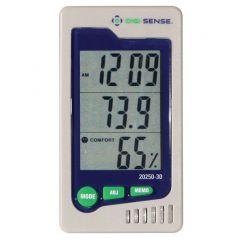 Температурен индикатор за влажност и предварително калибриран Digi-Sense, 0 - 50 °C, 10 - 90 % RH