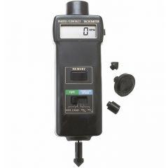 Тахометър за контактно, безконтактно измерване Extech 461895, 99 999 RPM