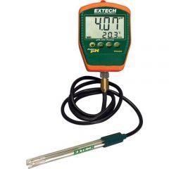 Портативен рН метър Extech PH220-C cu electrod pH (cu cablu), 0 - 14 pH