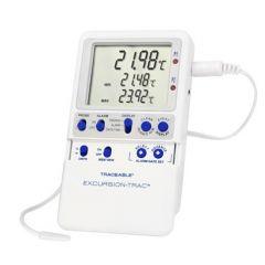 Цифров термометър Fisher Scientific Excursion-Trac с цилиндричен сензор, -50 до 70 ° C