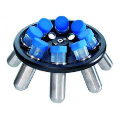 Алуминиев ъглов ротор DLAB A8-50, 16*15 ml / 8*50 ml