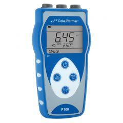 Преносим pH метър Cole-Parmer P100 с електрод pH, 0 - 14 pH