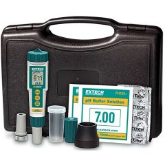 Комплект преносим рН метър Extech EX800, 0 - 14 pH