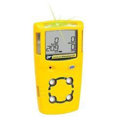 Портативен детектор GasAlert MicroClip XT за следене на множество газове с LCD дисплей