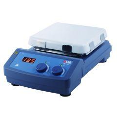 Магнитна бъркалка с нагряване DLAB MS7-H550-S, 550 ° C, 0 - 1500 оборота в минута