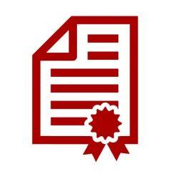 Сертификат за метеорологична верификация Kern DAkkS 965-227, клас III