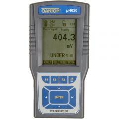 """Портативен рН метър Oakton pH 620 с електрод pH """"All-in-One"""", NIST сертификат за калибриране, -2-20 рН"""