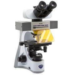 Тринокулярен флуоресцентен микроскоп Optika B-510LD4, 1000x