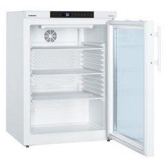 Фармацевтичен хладилник Liebherr със стъклена врата, електронна система за управление, 130 л