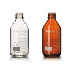 Кафявa лабораторнa бутилкa ROTH с винт GL 45, 100 мл