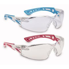 Предпазни очила Bolle RUSH+ SMAL сини, с прозрачен визьор