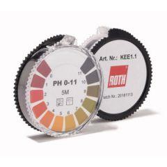 Хартиена ролка за измерване на pH Roth Rotilabo Eco, pH  1-14