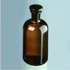 Кехлибарена лабораторна бутилка Marienfeld, 50 мл