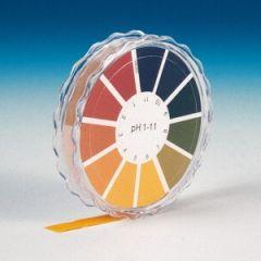 Ролка хартия за тестване на рН на вода, pH 1 - 11