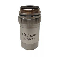 Ахроматичен обектив M-134 Optika за микроскопи, 40x