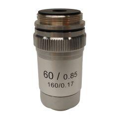 Ахроматичен обектив M-135 Optika за микроскопи, 60x