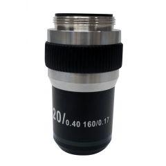 Обектив с висок контраст M-139 Optika за микроскопи, 20x