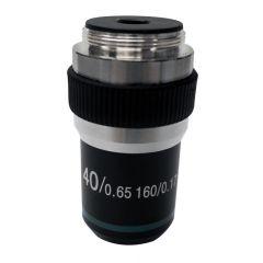 Обектив с висок контраст M-141 Optika за микроскопи, 40x