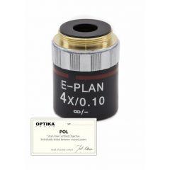 Обектив IOS N-PLAN POL M-144P Optika за микроскопи, 4x