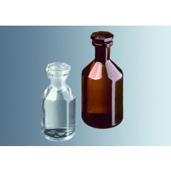 Прозрачни бутилки за реактиви Marienfeld, 500 мл, 10 бр