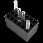 Гнездо Biosan B18-12 за нагревател с блокове CH3-150, 18 гнезда